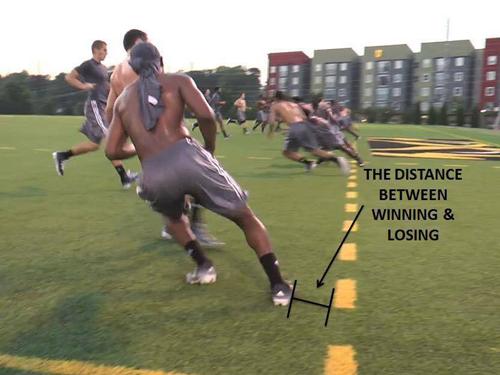 Rozdiel medzi vitazstvom a porazkou k23lacrosse
